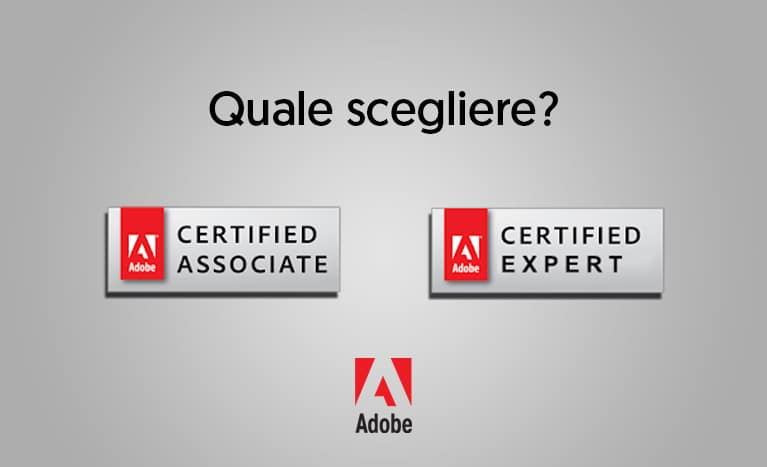 certificazione photoshop ACA e ACE